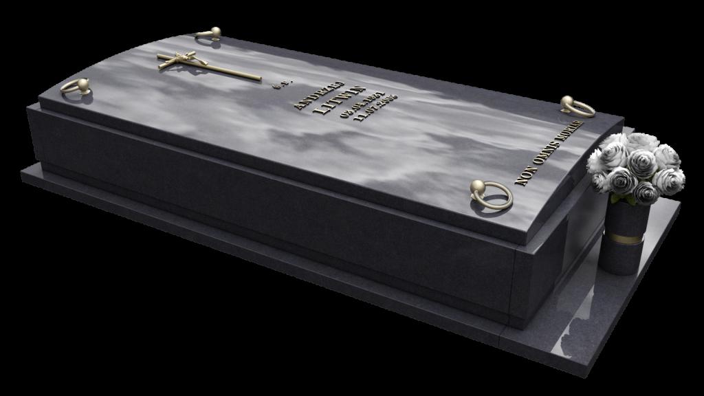 pojedynczy sarkofag nagrobek